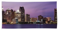 Detroit, Michigan, Usa Bath Towel