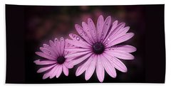Dew Drops On Daisies Hand Towel