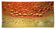 Dew Drops The Original 2013 Hand Towel by Joyce Dickens