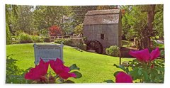 Dexters Grist Mill Two Hand Towel by Barbara McDevitt