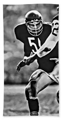 Dick Butkus Bath Towel