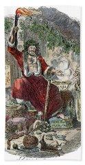 Dickens Christmas Carol, 1943 Hand Towel