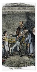 Dickens Oliver Twist, 1838 Hand Towel by Granger