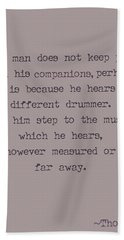Different Drummer Hand Towel