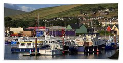 Dingle Harbour County Kerry Ireland Bath Towel