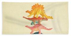 Dinosaur Antics Hand Towel