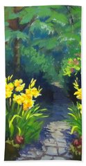 Discovery Garden Hand Towel