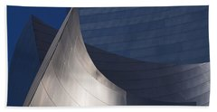 Disney Hall Abstract Bath Towel