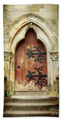 Distressed Door Hand Towel by Valerie Reeves