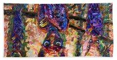 Disturbed Hand Towel by James W Johnson