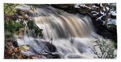 Doane's Lower Falls In Central Mass. Bath Towel