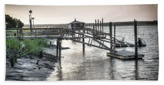 Docks Of The Bull River Hand Towel