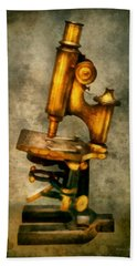 Doctor - Microscope - The Start Of Modern Science Hand Towel