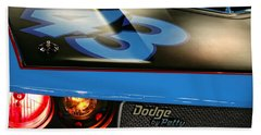 Hand Towel featuring the photograph Dodge By Petty by Gordon Dean II