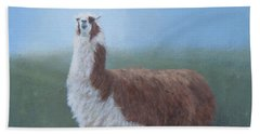 Dolly Llama Bath Towel