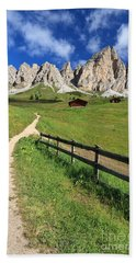 Dolomiti - Cir Group Bath Towel by Antonio Scarpi