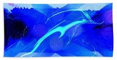 Dolphin Abstract - 1 Bath Towel