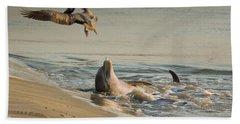 Dolphin Joy Bath Towel