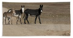 Donkey Family Bath Towel