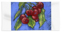 Door County Cherries Bath Towel
