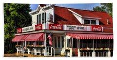 Door County Wilson's Ice Cream Store Hand Towel