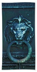 Door Knocker Hand Towel