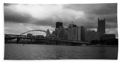 Downtown Pittsburgh Hand Towel