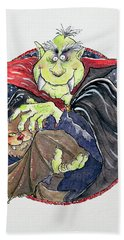 Dracula Hand Towel by Maylee Christie
