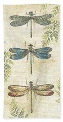 Dragonflies In The Summertime-jp2324 Bath Towel
