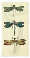 Dragonflies Bath Towel