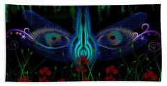 Dragonfly Eyes Series 6 Final Hand Towel