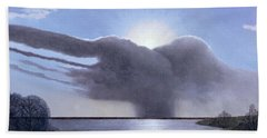 Draycote Cloud, 2004 Oil On Canvas Hand Towel