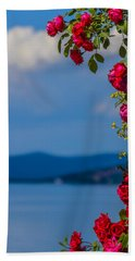 Bath Towel featuring the photograph Dream Full Of Roses by Sotiris Filippou