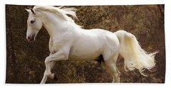Dream Horse Hand Towel by Melinda Hughes-Berland