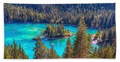 Dream Lake Hand Towel by Hanny Heim
