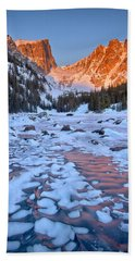 Dream Lake - Rocky Mountain National Park Hand Towel by Ronda Kimbrow