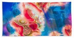 Dream Nebulae Hand Towel by Kellice Swaggerty