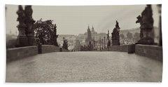 Dreaming Of Prague Hand Towel