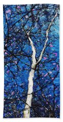 Hand Towel featuring the digital art Dreaming Of Spring by David Lane