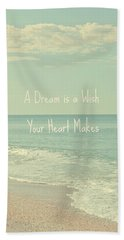 Dreams And Wishes Bath Towel