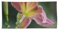 Bath Towel featuring the photograph Dreamy Daylily by Patti Deters