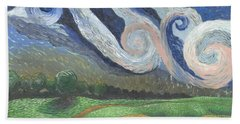'dreamy Sky' Bath Towel