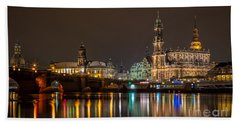 Dresden By Night Hand Towel