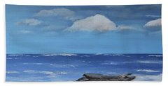 Driftwood Hand Towel by Dick Bourgault