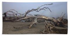 Driftwood Trees On Jekyll Island Hand Towel