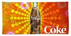 Drink Ice Cold Coke 4 Hand Towel