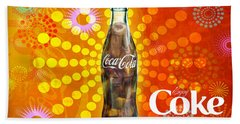 Drink Ice Cold Coke 4 Bath Towel