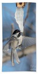 Drinking In Flight Hand Towel by Cheryl Baxter
