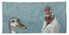 Duck Chicken Hand Towel