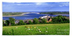Bath Towel featuring the photograph Dundrum Bay In County Down Ireland by Nina Ficur Feenan